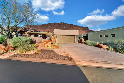 St George Single Family Home For Sale: 2336 W Entrada Trail #44