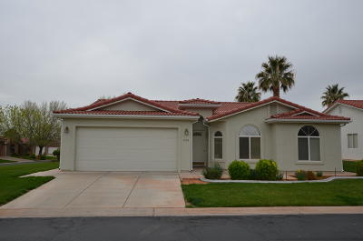 Ivins Single Family Home For Sale: 466 Dominguez Dr
