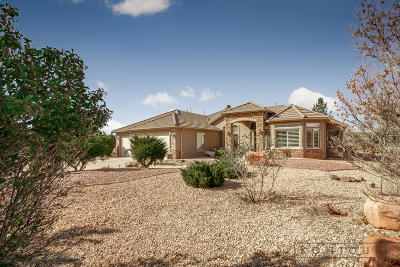 Dammeron Valley Single Family Home For Sale: 819 Wild Herb Rd