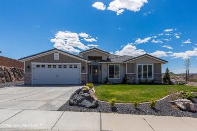 Hurricane Single Family Home For Sale: 3549 W 400 N