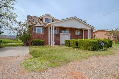 Ivins Single Family Home For Sale: 160 S 200 W