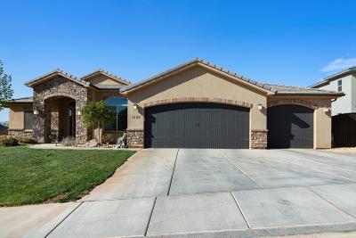 Washington Single Family Home For Sale: 1189 E Silver Shadows Dr #79
