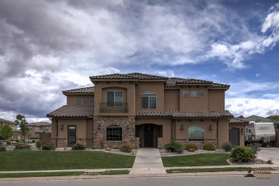 St George Single Family Home For Sale: 3595 S 2870 E