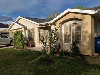 Ivins Single Family Home For Sale: 545 S 75 E