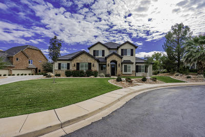 St George UT Single Family Home For Sale: $672,500