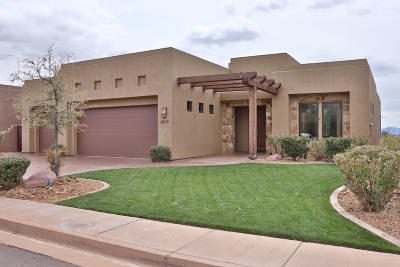 St George UT Single Family Home For Sale: $729,900