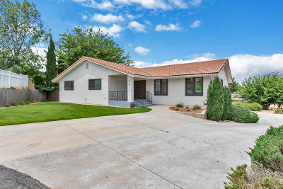 St George Single Family Home For Sale: 875 Empress Cir