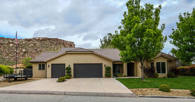 St George Single Family Home For Sale: 2673 Los Padres Dr