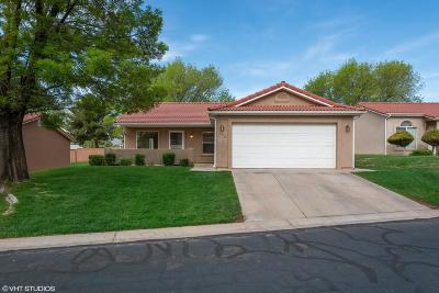 Ivins Single Family Home For Sale: 478 S Fiesta Dr