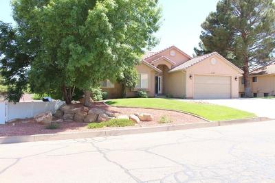 St George UT Single Family Home For Sale: $459,900