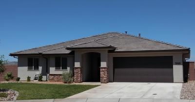 St George UT Single Family Home For Sale: $324,900