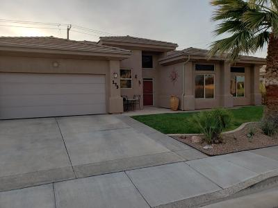 St George UT Single Family Home For Sale: $310,000