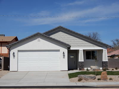 St George UT Single Family Home For Sale: $325,000