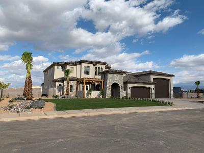 St George UT Single Family Home For Sale: $1,399,900