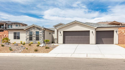 Washington Single Family Home For Sale: 838 W Sunset Mesa Dr