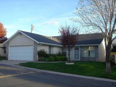St George UT Single Family Home For Sale: $195,000
