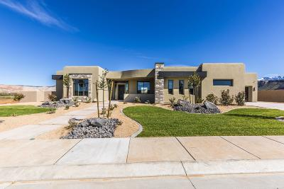 St George UT Single Family Home For Sale: $899,900