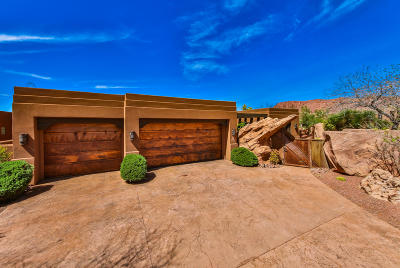 St George UT Single Family Home For Sale: $1,485,000