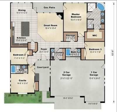 Washington Single Family Home For Sale: Sunset Mesa Dr #52