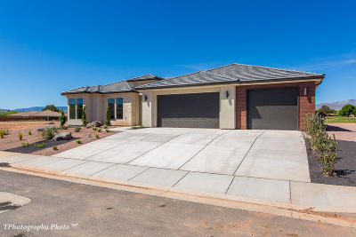 St George UT Single Family Home For Sale: $499,900