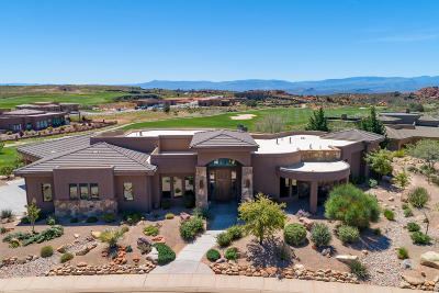 St George UT Single Family Home For Sale: $1,249,000