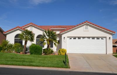 Ivins Single Family Home For Sale: 473 S Chula Vista Dr