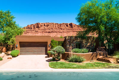 St George UT Single Family Home For Sale: $859,000
