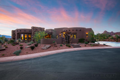 St George Single Family Home For Sale: 3052 Snow Canyon Parkway #233