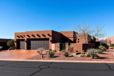 St George UT Single Family Home For Sale: $879,000