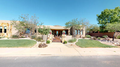 St George Single Family Home For Sale: 2044 W Rising Sun Dr