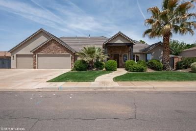 Washington Single Family Home For Sale: 469 E 1575 S