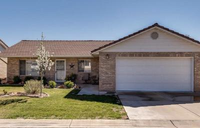 St George UT Single Family Home For Sale: $224,900