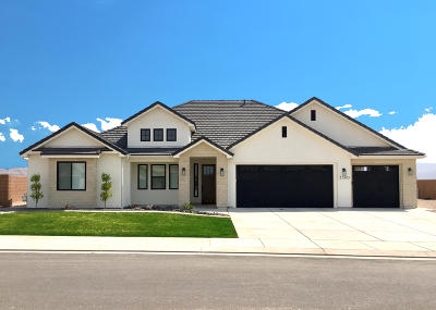 St George Single Family Home For Sale: 3360 Blackbrush Dr