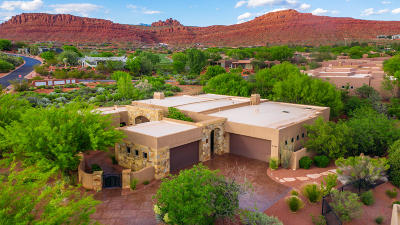 St George Single Family Home For Sale: 2182 Anasazi Trail