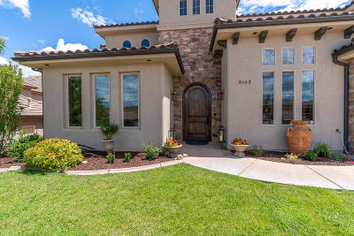St George Single Family Home For Sale: 3663 S Price Hills Dr