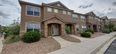 St George Condo/Townhouse For Sale: 3155 S Hidden Valley Dr #248