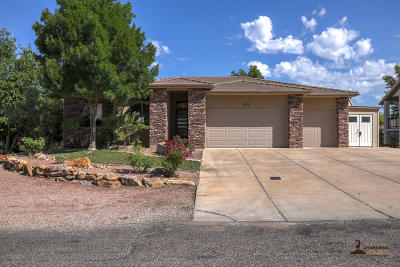 St George Single Family Home For Sale: 551 Pintura Dr