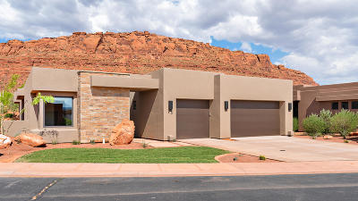 St George Single Family Home For Sale: 2336 W Entrada Trail #20