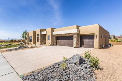St George Single Family Home For Sale: 5339 N Hidden Pinyon Dr