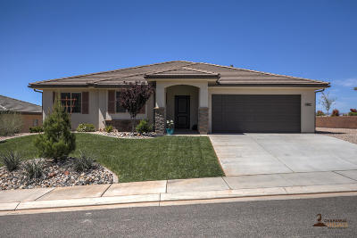 St George  Single Family Home For Sale: 5962 S Desert Crest