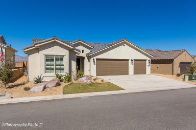 St George UT Single Family Home For Sale: $399,266