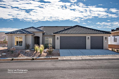 St George UT Single Family Home For Sale: $442,019