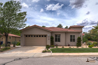St George Single Family Home For Sale: 2652 W Desert Springs Rd