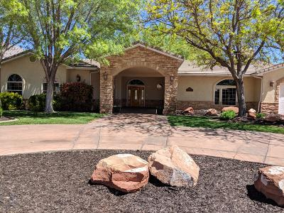 St George UT Single Family Home For Sale: $649,900