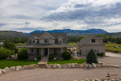 Dammeron Valley Single Family Home For Sale: 1424 N Canyon Trail Dr