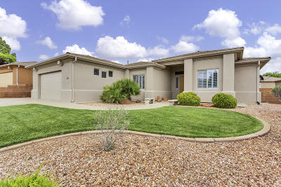 St George Single Family Home For Sale: 1560 N Sonoran Dr