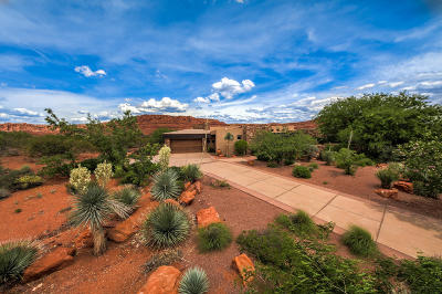 St George Single Family Home For Sale: 2588 Anasazi Trail