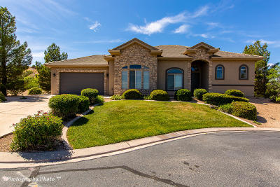 St George UT Single Family Home For Sale: $375,000