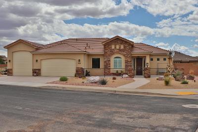 Hurricane Single Family Home For Sale: 2458 S 4240 W Cir