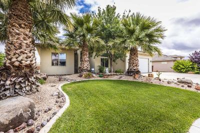 Hurricane Single Family Home For Sale: 358 N 3220 W